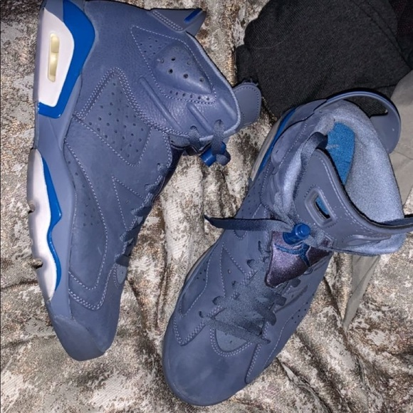 diffused blue retro 6
